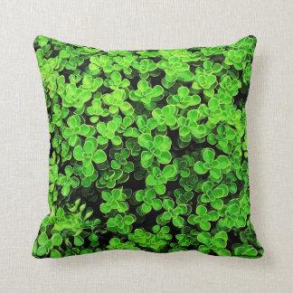 Coussin Haie verte - texture extérieure de fleur