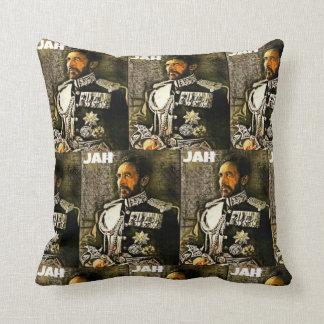 Coussin Haile Selassie I est Jah