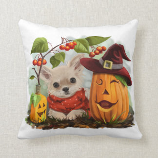 Coussin Halloween pour des chiwawas