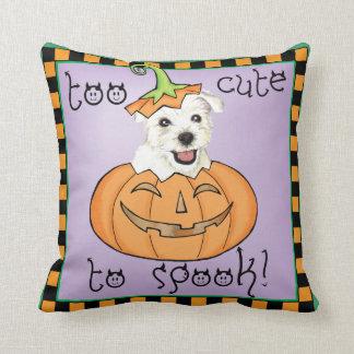 Coussin Halloween Westie