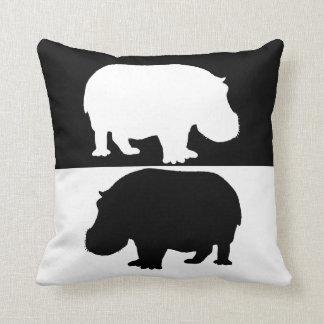 Coussin hippopotame