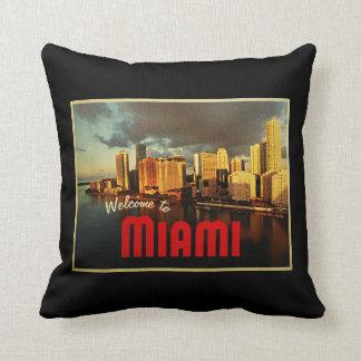 Coussin Horizon de Miami la Floride