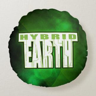 Coussin hybride de la terre - rond