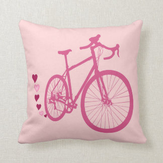 Coussin I [coeur] ma bicyclette