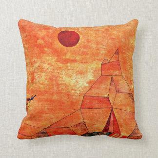 Coussin Illustration de Paul Klee, Marchen