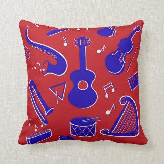 Coussin Instruments de musique