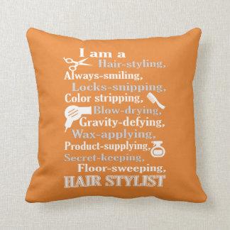 Coussin Je suis un coiffeur