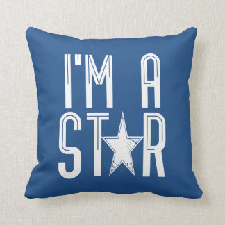 Coussin Je suis une étoile
