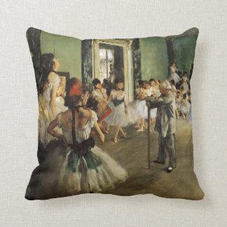 Coussin La classe de ballet, Edgar Degas 1874