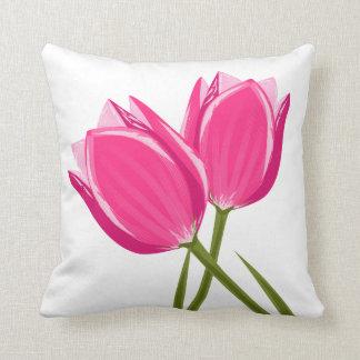 Coussin La tulipe fleurit le carreau