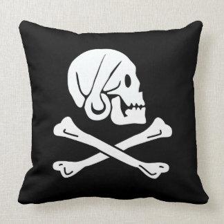Coussin Le drapeau d'Henry de pirate