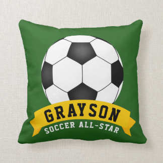 Coussin Le football All-Star