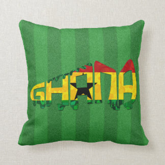 Coussin Le football Calligram du Ghana