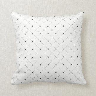 Coussin Le petit noir pointille |Pillow