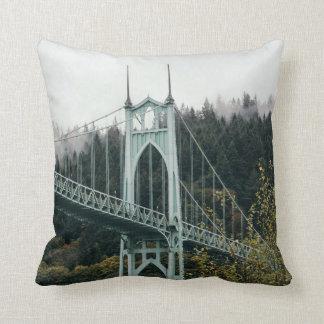 Coussin Le pont de St John à Portland