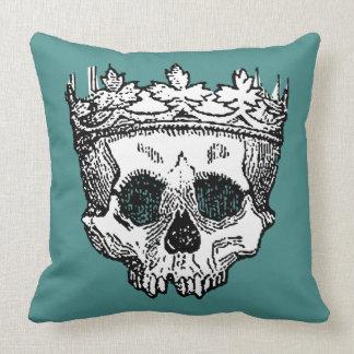 Coussin Le Roi Crowned squelettique de revêtement avant