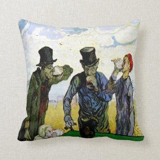 Coussin Les buveurs par Vincent van Gogh 1890
