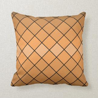Neutral brown crosshatch diamonds tan buckskin