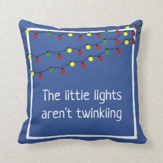 Coussin Les petites lumières ne scintillent pas