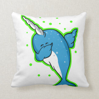 Coussin Limande tamponnante de Narwhal