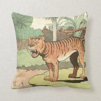 Coussin Livre de contes de tigre