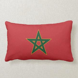 Coussin marocain de drapeau