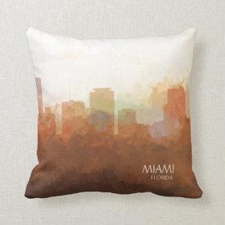 Coussin Miami, la Floride Horizon-Dans les nuages