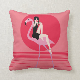 Coussin Mon flamand rose