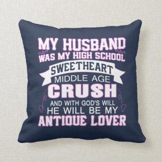 Coussin Mon mari était mon amoureux de lycée