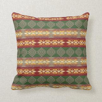Coussin motif africain tribal ethnique