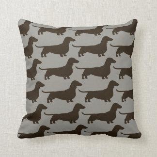Coussin Motif de chiens de teckel