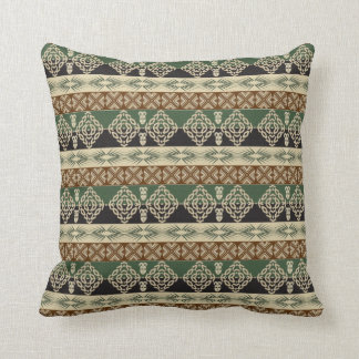 Coussin motif tribal africain ethnique