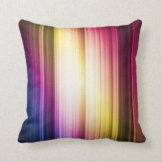 Coussin multicolore