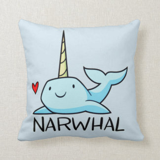 Coussin Narwhal