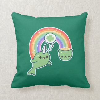 Coussin Narwhal chanceux