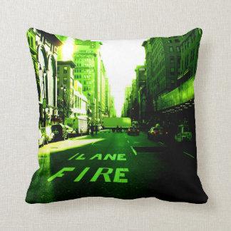 Coussin New-York Color – Green Firelane