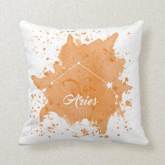 Coussin orange de Bélier