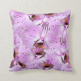 Coussin Orchidées de prune