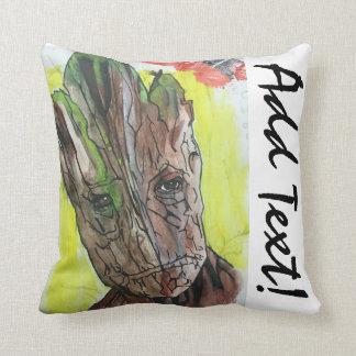 Coussin Peinture artistique d'homme d'arbre