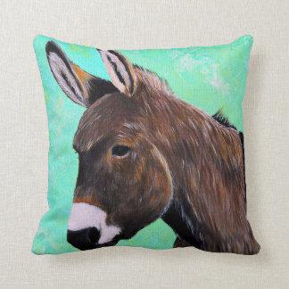 Coussin Peinture d'âne