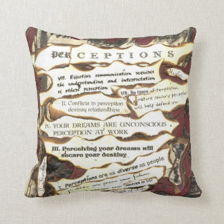 Coussin Perceptions