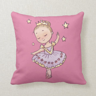 Coussin Petite princesse Ballerina