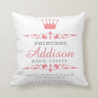 Coussin Petite princesse Nursery Pillow