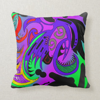 coussin polyester tribal flashy