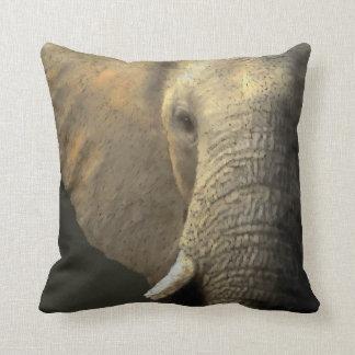 Coussin Portrait d'Elelphant