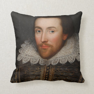 Coussin Portrait vintage de William Shakespeare