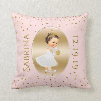 Coussin Princesse Nursery de bébé | rougissent les points