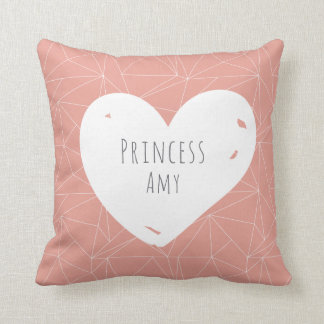 Coussin Princesse Personalized Throw Cushion