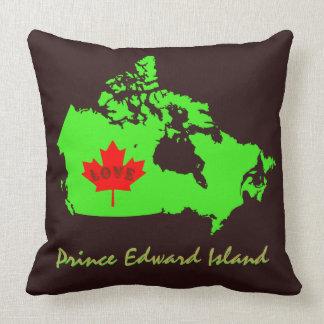 Coussin Province du Canada de personnaliser d'île Prince
