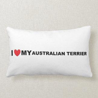 Coussin Rectangle amour de terrier australien